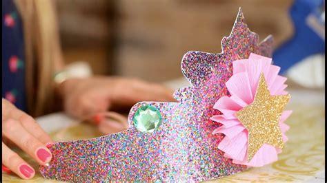birthday  remember diy princess crowns youtube