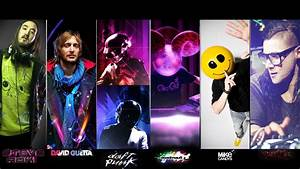 Music daft punk houses djs techno deadmau5 steve aoki ...