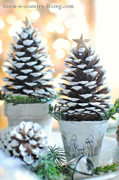 pine cone christmas trees cone christmas trees pine
