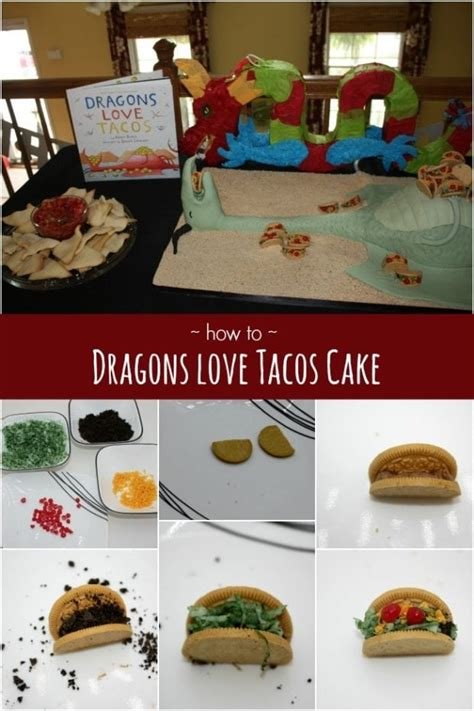 dragons love tacos birthday cake