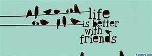 life is better with friends birds illustration Facebook ...