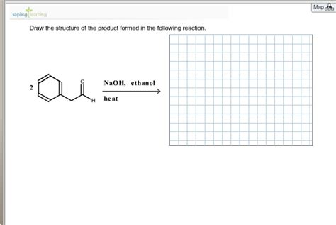 Solved Draw The Structure Of The Product Formed In The Fo