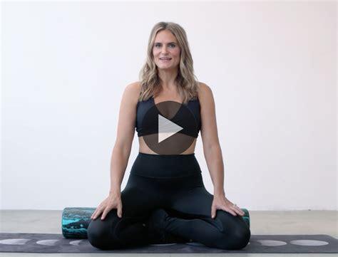 A Foam Rolling Workout For Better Sex Goop