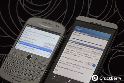 why there is no automatically dim backlight setting on the blackberry z10 crackberry