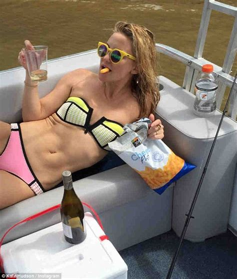 kate actress on instagram kate hudson in instagram bikini snaps goofing around with