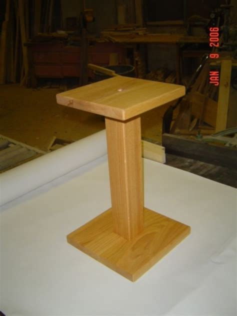 build diy wood speaker stands plans  plans wooden