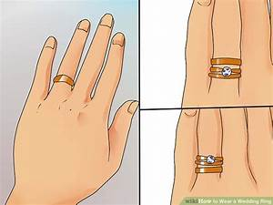 how to wear a wedding ring 11 steps with pictures wikihow With which way do you wear your wedding rings