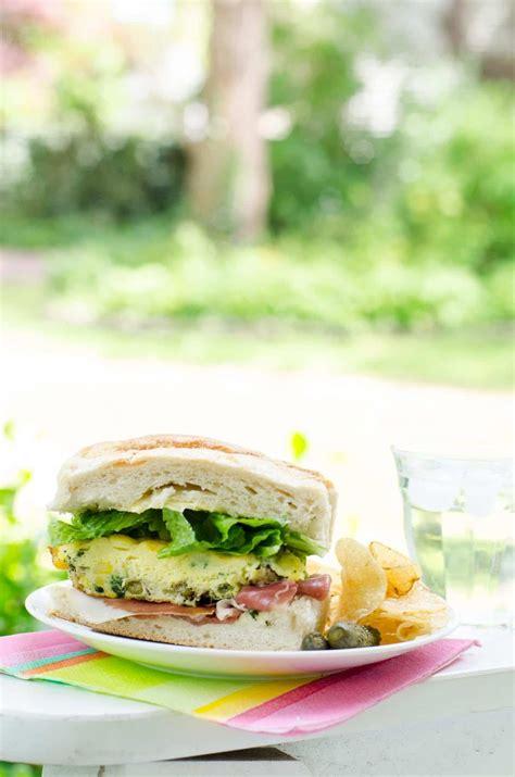 easy picnic food easy picnic food frittata sandwich umami girl