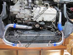 Front Mount Intercooler Piping Kit For 03