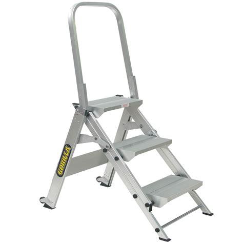 aluminium ladder bunnings bunnings gorilla ladders gorilla 150kg industrial 3