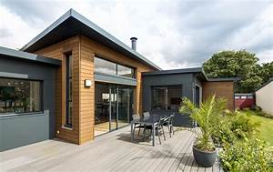 maison ossature bois trecobat extenbois lu dans la presse With faire un plan de maison 12 maison en bois le plan nature de trecobat