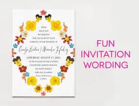 wedding invites wording wording sle