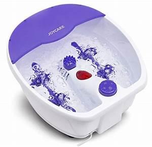 Chaufferette électrique Pour Les Pieds : joycare bain de pied qui masse avec rouleaux de massage ~ Edinachiropracticcenter.com Idées de Décoration