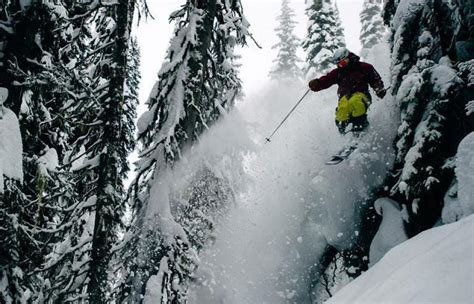 Here's The Salomon Ski Team Shredding Some Perf...