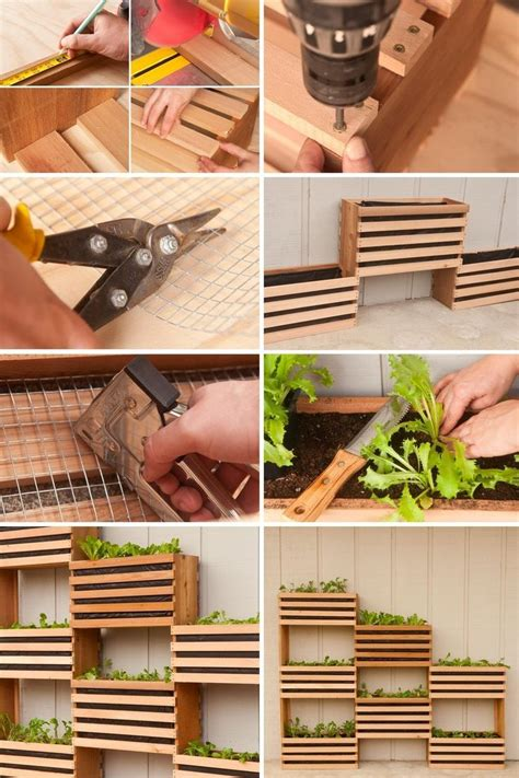 Vertical Gardening Diy by Diy Vertical Garden For Small Spaces Diy ガーデニング ガーデン