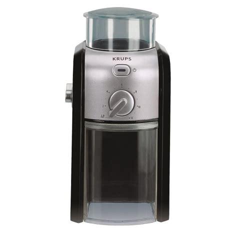 Blade grinders, as their name suggests, use spinning metallic or stainless steel has its benefits too. Grinders | Electric Grinders | Krups Burr Grinder | Fresco Gourmet Coffee and Tea