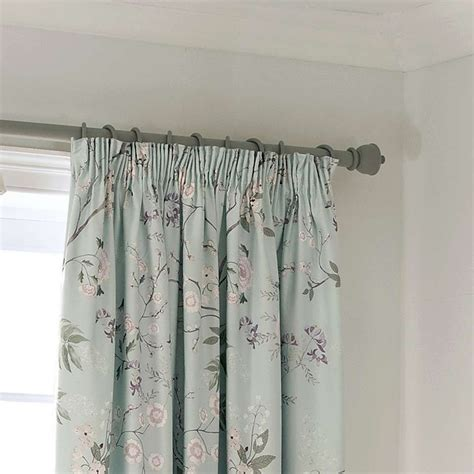 Living Room Curtains Pencil Pleat by Dorma Duck Egg Maiya Lined Pencil Pleat Curtains Dunelm