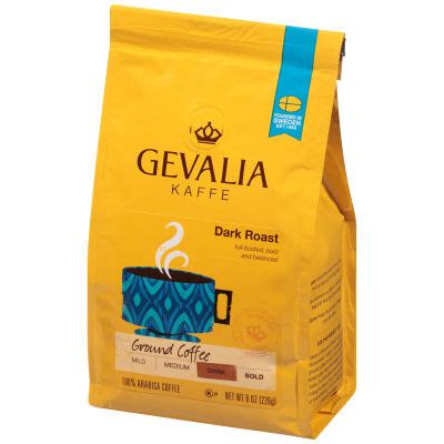 Get free shipping at $35 and view promotions and reviews for gevalia single cups coffee dark royal roast Gevalia Dark Roast Ground Coffee 8 oz Bag - My Food and Family