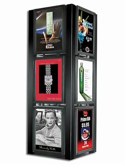 Kiosk Graphic Display Systems Theater Series Poster