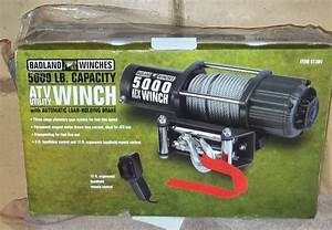 Badlands 5000lbs Winch Installation  Review