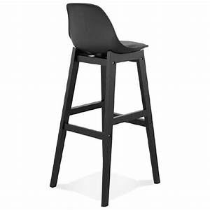Tabouret De Bar Noir : tabouret de bar chaise de bar design jack noir ~ Melissatoandfro.com Idées de Décoration