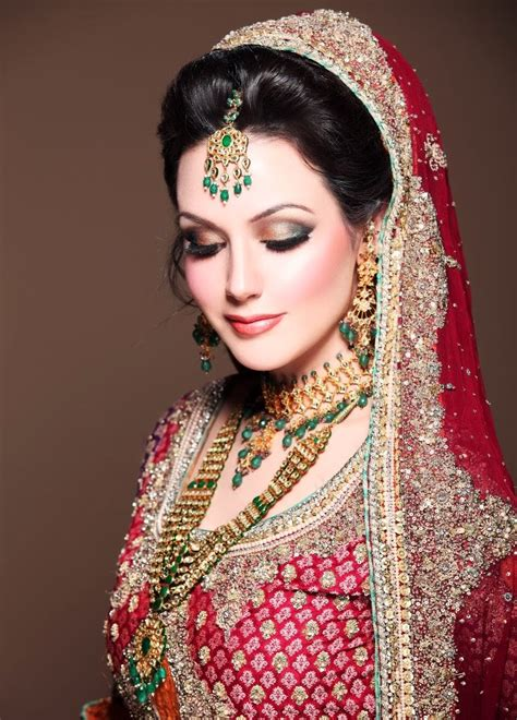 beautiful pakistani bridal makeup  style arena