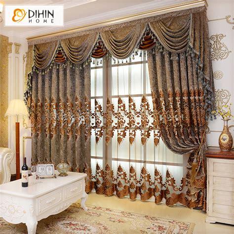 drapes and valances european valance european royal luxury valance curtains