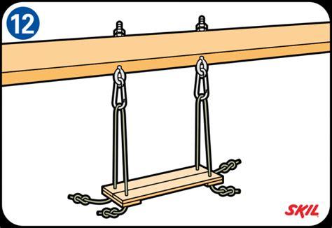 wooden swing wykonanie huśtawki