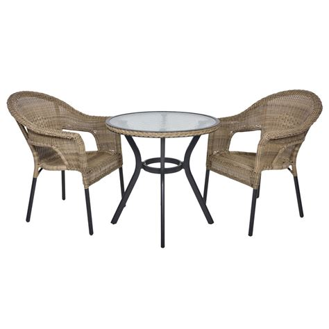 2 chair table set havana rattan bistro 2 seat garden furniture table