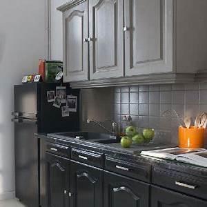 Peinture meuble de cuisine le top 5 des marques for Idee deco cuisine avec meuble de cuisine rouge et gris