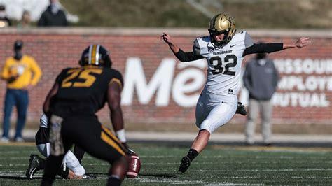 Sarah Fuller plans to keep kicking for Vanderbilt football ...