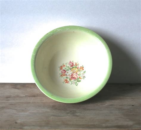 serve it bowl homer laughlin oven serve mixing bowl lime green