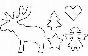 Elch Vorlage Kostenlos : schablonen skandinavische weihnachten 583 malvorlage ~ Lizthompson.info Haus und Dekorationen