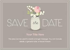 Free Email Save The Date Templates Goseqhtk