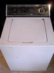 Old Whirlpool Washer Dryer