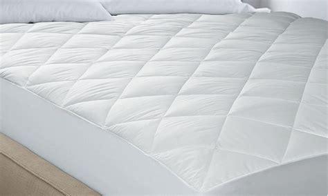 hotel mattress pad hotel suite mattress pad groupon goods