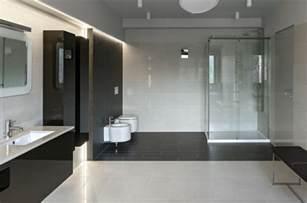moderne badezimmer schwarz weiss bodenfliesen im badezimmer fliesen trends 2016 für moderne bäder in schwarzweiß freshouse