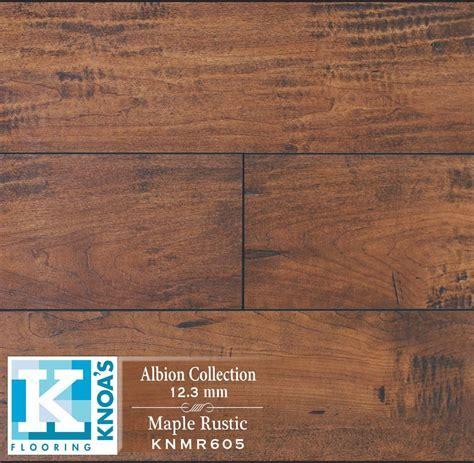 Maple Rustic Hand Scrape Laminate Flooring   Houston