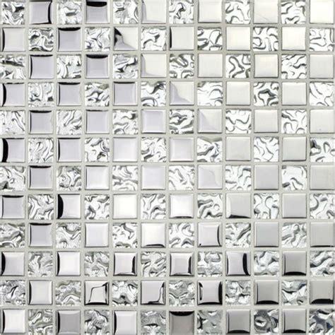 Cheap Kitchen Backsplash Ideas - silver glass tile backsplash ideas bathroom mosaic tiles cheap bravotti com