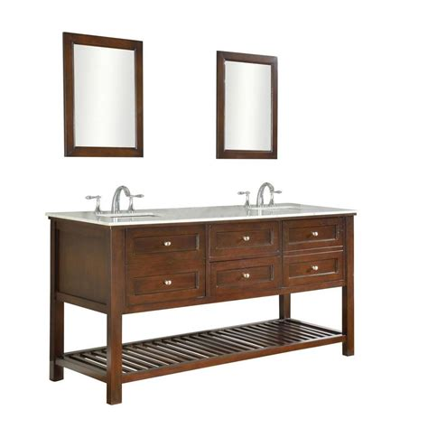 70 double sink bathroom vanity direct vanity sink mission spa 70 in double vanity in