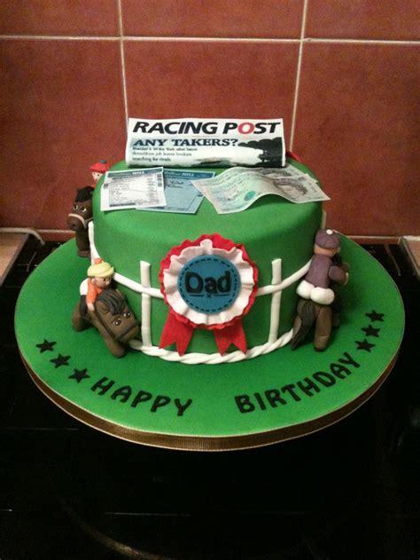 horse racing cake cakes pinterest