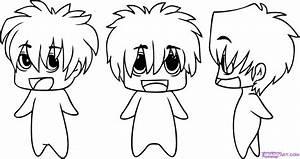 How to Draw Chibi Anime, Step by Step, Chibis, Draw Chibi ...