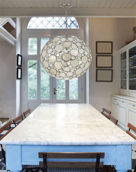 modern crystal  capiz shell  pendant chandelier