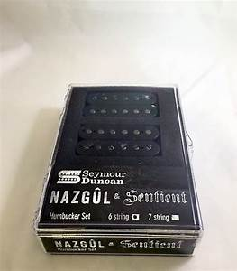New Seymour Duncan Nazgul Sentient 6 String Humbucker Set