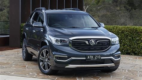 holden acadia  pricing  specs confirmed car news