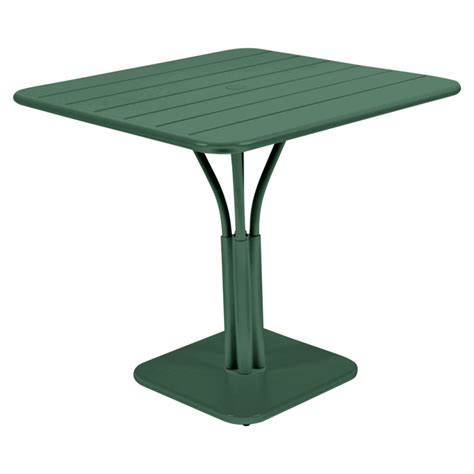 siege table 80x80 cm luxembourg table outdoor metal table
