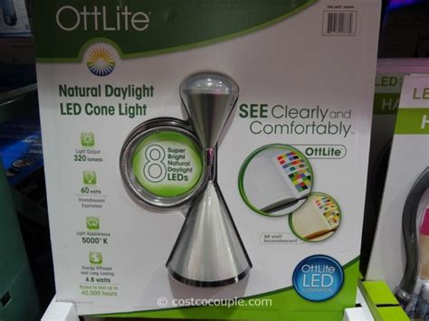 ottlite led desk l costco ottlite natural daylight led cone desk l