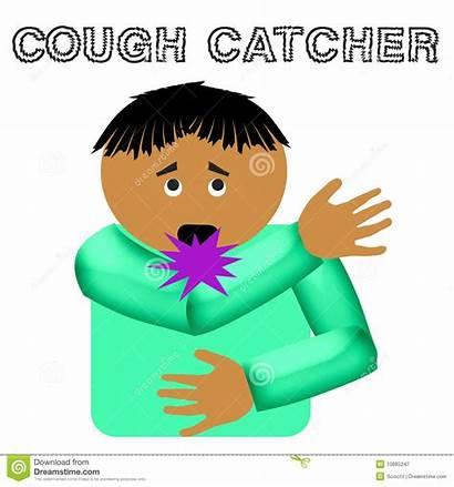 Cough Catcher Clipart Illustration Clip Royalty Flu