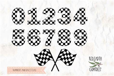 Almost files can be used for commercial. Free Checkered Numbers Race Flag Svg Png Dxf Pdf For ...