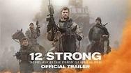 See trailer for 12 Strong, starring Chris Hemsworth
